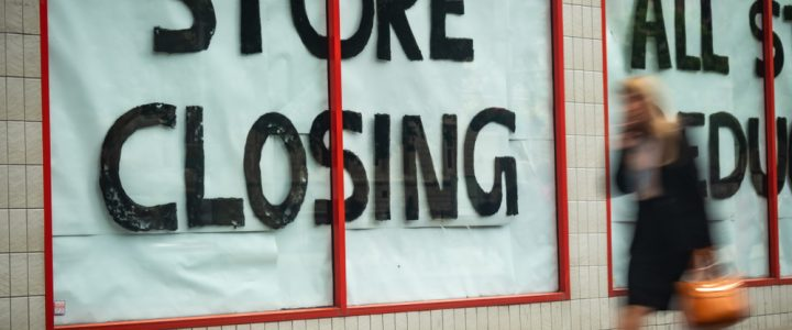 More than 2,800 retail stores closed during first half of 2019